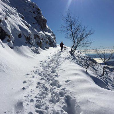 DOMENICA 24 FEBBRAIO – CIASPOLATA ai Laghetti di Bruffione, dal Gaver