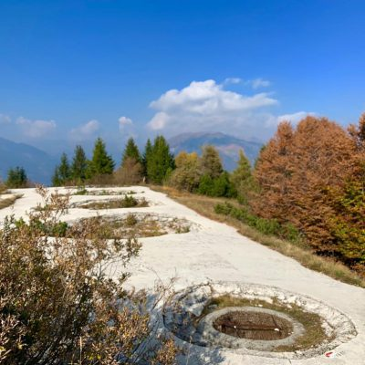 DOMENICA 28 APRILE Escursione al Forte di Cima Ora, sopra il lago d' Idro