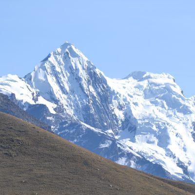 Huascaran, ai piedi del gigante