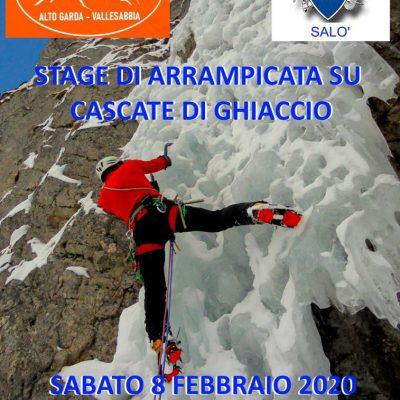 Stage di arrampicata su ghiaccio