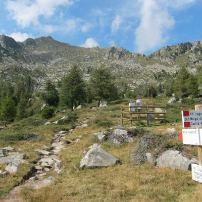 SABATO 10 OTTOBRE Escursione Semprerosa a Cima Zeledria, 2427m. Campiglio